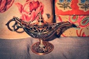 magical lamp, deviantART by MaithaNeyadi